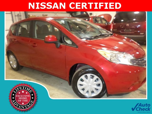 Certified Used Nissan Versa Note SV